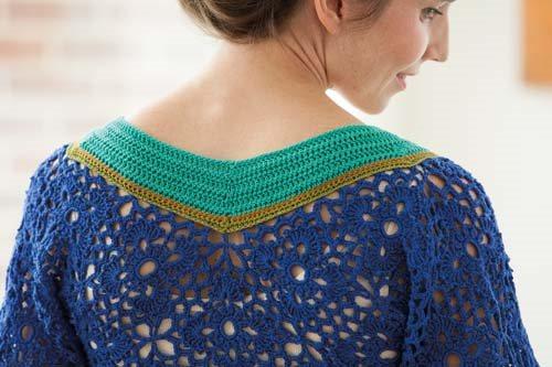 Blueprint Crochet Sweaters: Crochet Motif Tunic