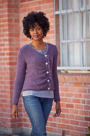 Chiral Cardigan Knitting Pattern