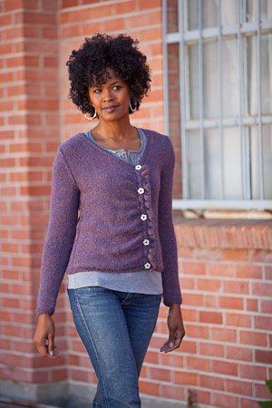 Chiral Cardigan Knitting Pattern