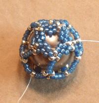 tubular peyote stitch dodecahedron