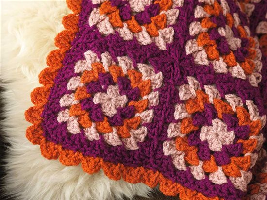 Unexpected Afghans: Motif Crochet Afghan