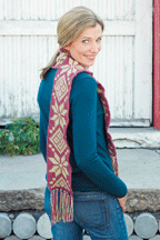 The Elvis 1973 Scarf is a crochet scarf pattern found in our free Crochet Colorwork Patterns eBook,
