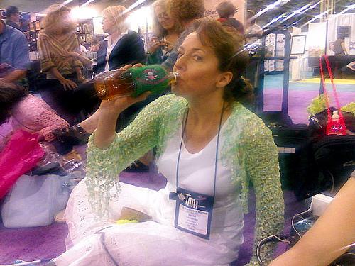 Vashti Rocks the Armband Water Bottle Cozy