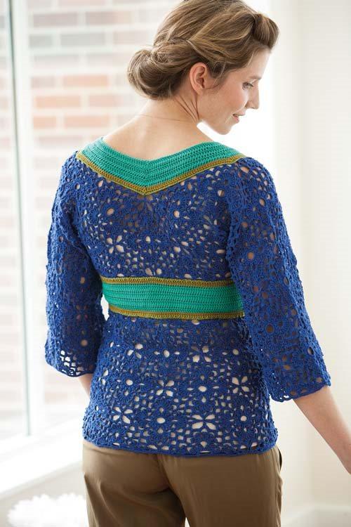 Blueprint Crochet Sweaters: Motif Crochet Tunic