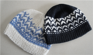 You'll love this easy knitted hat pattern found in our free eBook on ideas for knitting gifts.