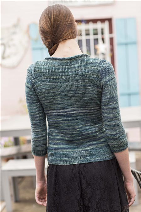 modest pullover knitted sweater pattern