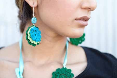 Thread Crochet Jewelry