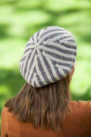 Double-Ended Tunisian Crocheted Hat