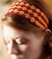 Crochet Headband, Marigold Headband by Sarah Read