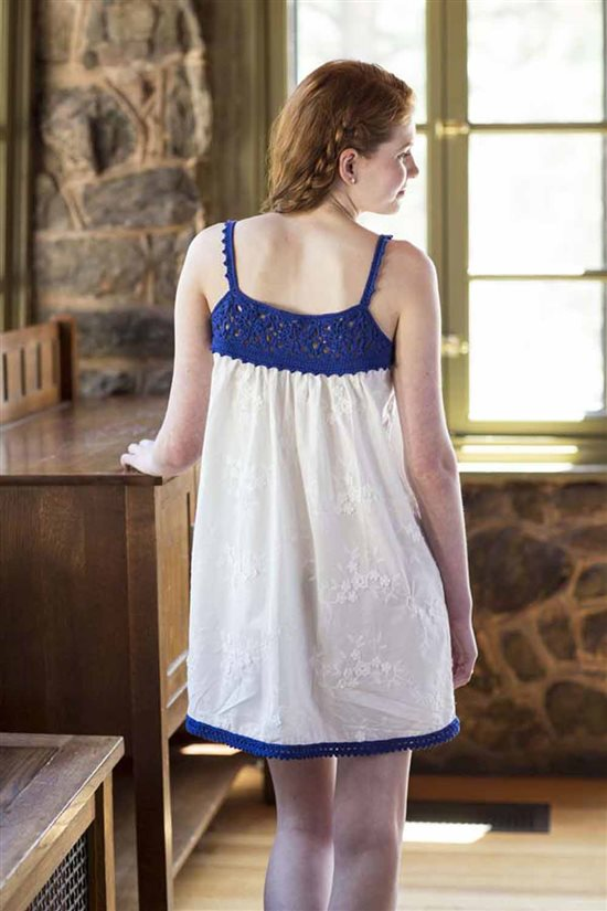 Crochet Ever After: Crocheted Nightgown
