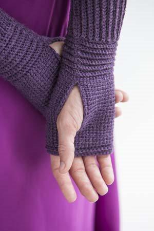 It Girl Crochet: Fingerless Mitts