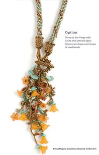 Rivendell Rope by Jeanne Evans, Beadwork OctNov2013