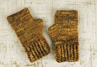 Sarah's crochet mitts