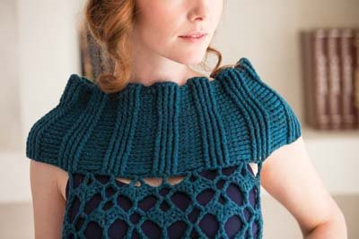 Crochet So Lovely: Crochet Tunic Collar