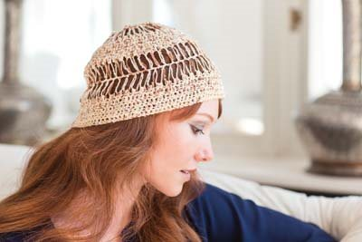 Crochet So Lovely: Hairpin Crochet Hat