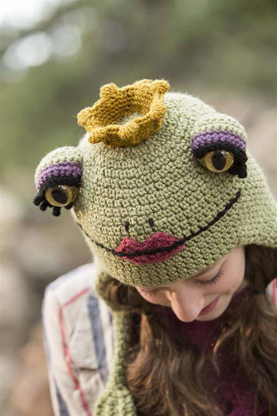 Crochet Ever After: Crochet Frog Hat