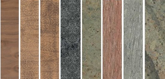 LillyPilly's wood and slate veneers