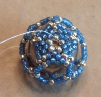 tubular peyote stitch peyote beading dodecahedron