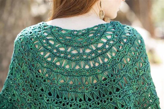 Crochet Ever After: Crochet Lace Shawl