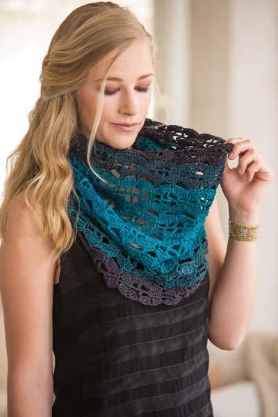 Crochet So Lovely: Lace Crocheted Cowl