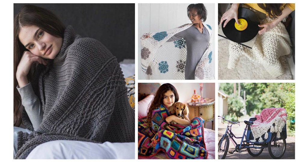 Recovering From a Food Coma? 5 Crochet Afghan Patterns to Cuddle Up With!