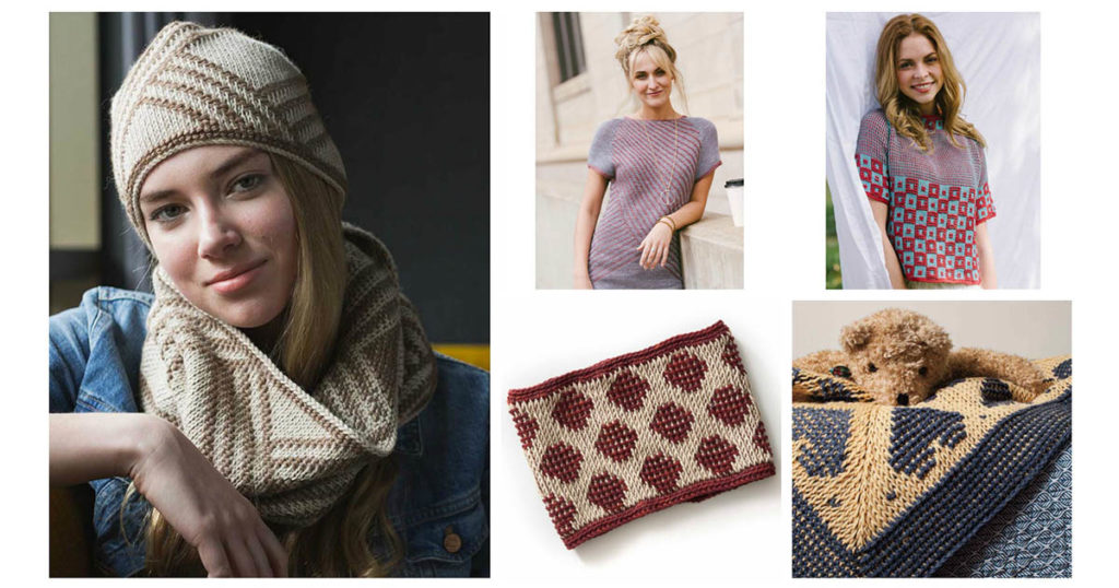 5 Tunisian Crochet Patterns to Get Hooked on the Two-Color Technique