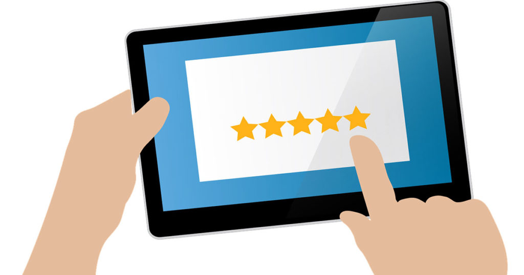 5-star reviews online shopping, Photo: Getty Images.