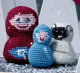 Free Crochet Patterns for Beautiful Handmade Gifts, such as this crochet toy doll pattern.