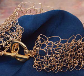 How to crochet with wire: free tutorial