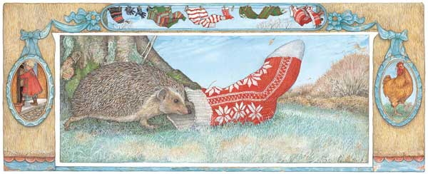 Get several of our The Hat Stocking holiday knitting kits and knit up stockings for your whole family.