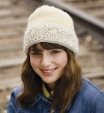 The Snow Queen Hat is an easy crochet pattern found in our free Exploring Knitting and Crochet Techniques eBook.