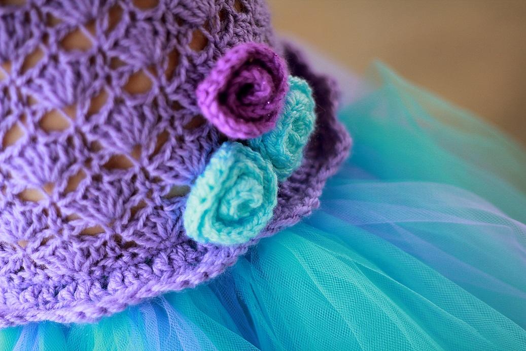 No Sew Crochet Tutu Dress Interweave