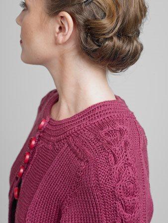Serenity Sweater Shoulder