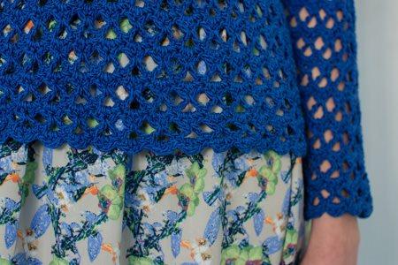 Sapphire Sweater Hem