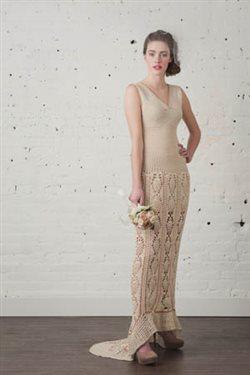 Designing a crochet wedding dress interweave crochet wedding dress junglespirit Gallery