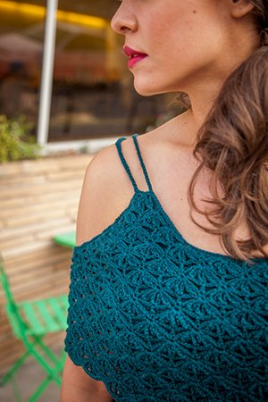 Crocheted Lace Top