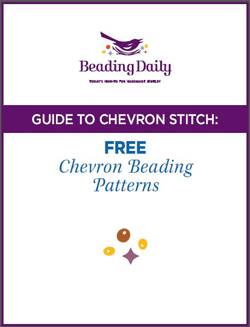 Learn the chevron stitch with these free beading projects.
