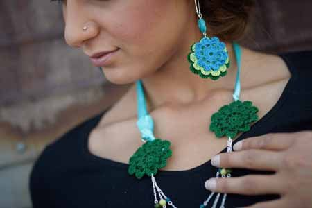 Robyn Chachula Crochet Jewelry