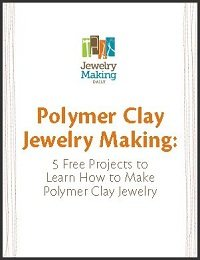 You'll love these polymer clay jewelry making projects in our free ebook.