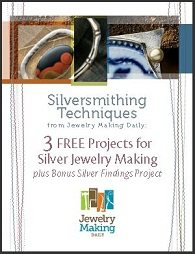 Learn everything you need to know about how to make silver jewelry in this FREE eBook on silversmithing techniques.