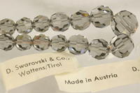 vintage crystal beads