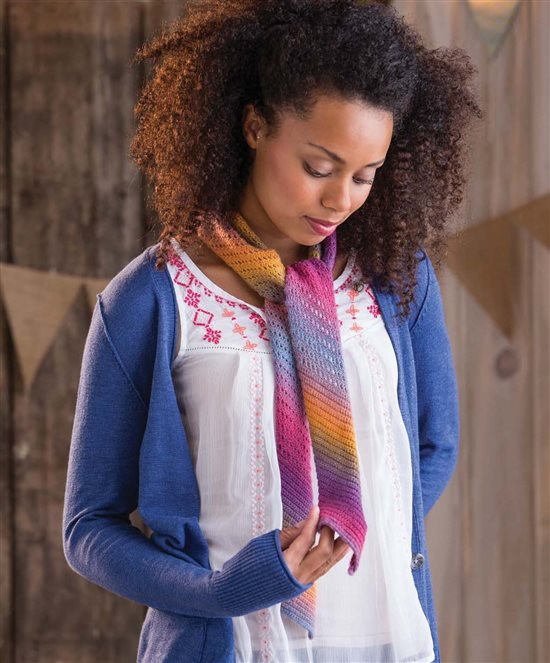 3 Skeins or Less; Crochet Scarf