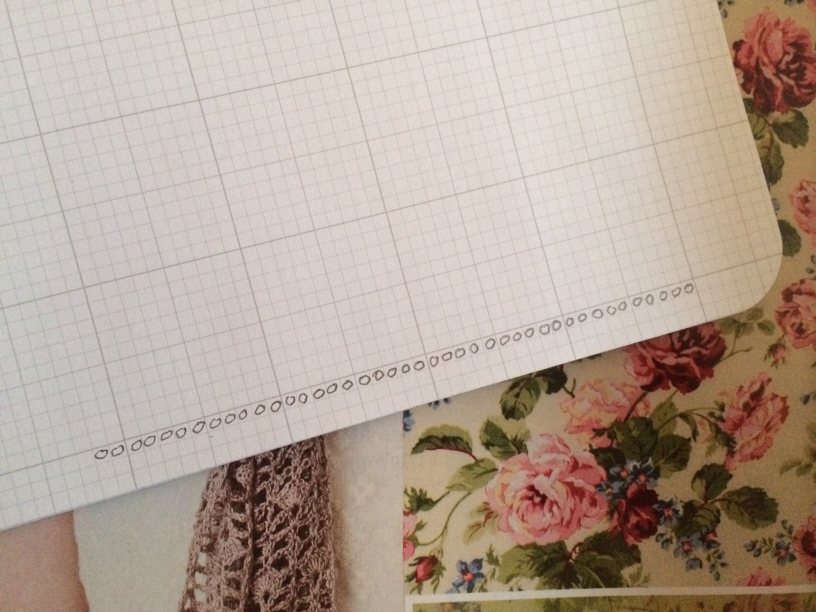 How To Draw A Crochet Stitch Diagram Interweave Pattern My Favorite Tools For Working Up Own Diagrams Are Graph Paper And Nice Fine Point Mechanical Pencil The Helps Keep Rows Evenly Drawn