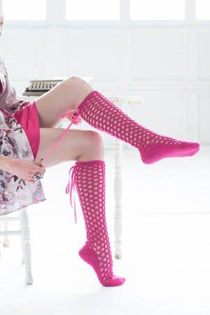 Corset Socks Side