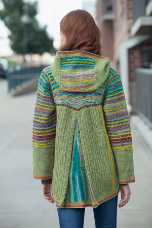 Chromatic Hoodie Pleat