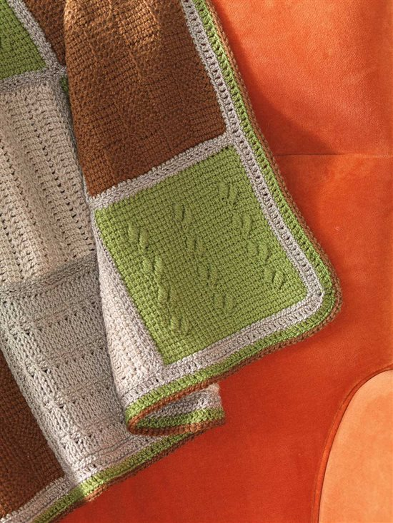 Tunisian Crochet Afghan