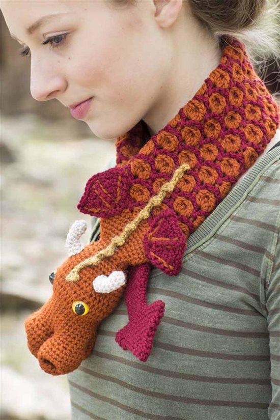 Crochet Ever After: Dragon Crochet Cowl