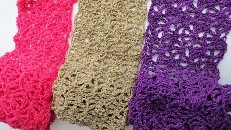 Alana Lacy Scarf For Summer Free Crochet Pattern For Mothers Day