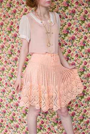 Pineapple Skirt - Interweave