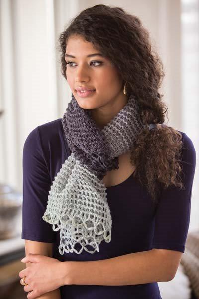 Crochet So Lovely: Lace Crochet Scarf